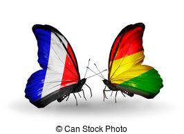 dos-mariposas-con-banderas-en-alas-como-símbolo-de-relaciones-francia-y-bolivia-dibujo_csp21086743